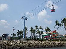 Ancol Dreamland Wikipedia Gondola Edit Ocean Ecopark Kota Administrasi Jakarta