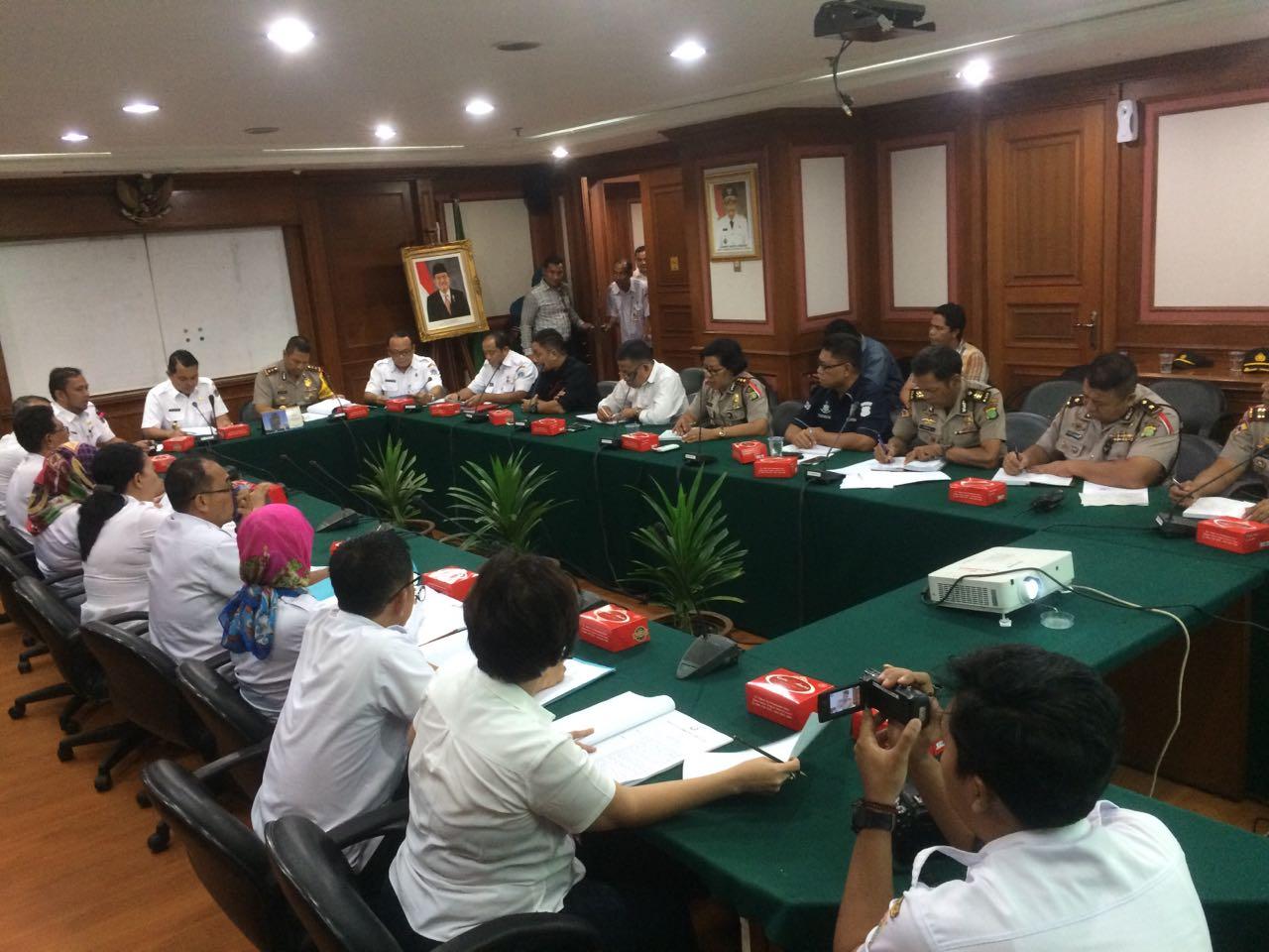 Situs Resmi Kepolisian Resort Metropolitan Jakarta Utara Rapat Koordinasi Tim