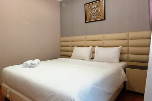 Spacious Seaview 2br Pacific Ocean Ancol Mansion Travelio Hotel Room