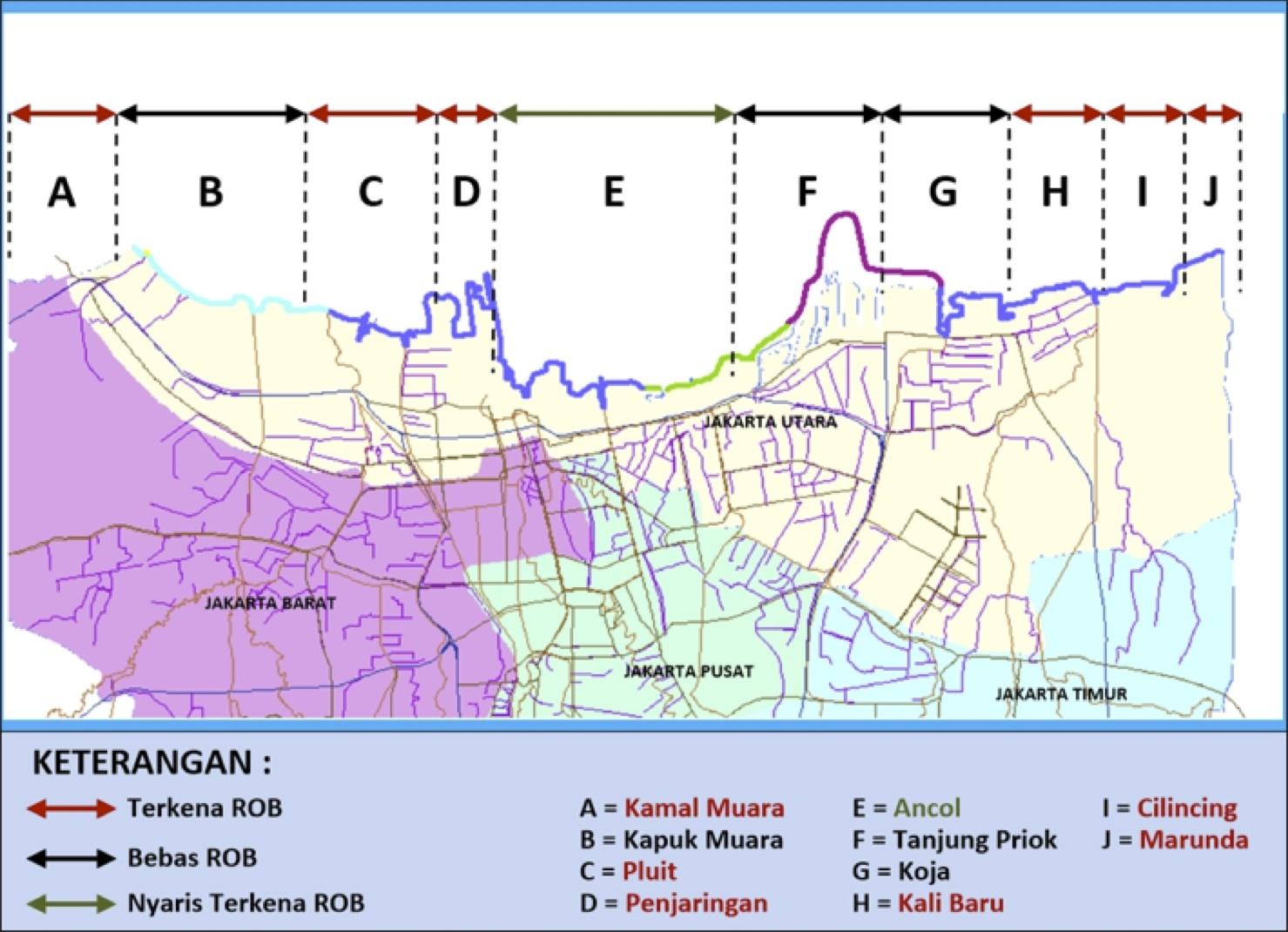 Drainase Jakarta Pantai Hutan Bakau Gambar 6 09 5 Lokasi