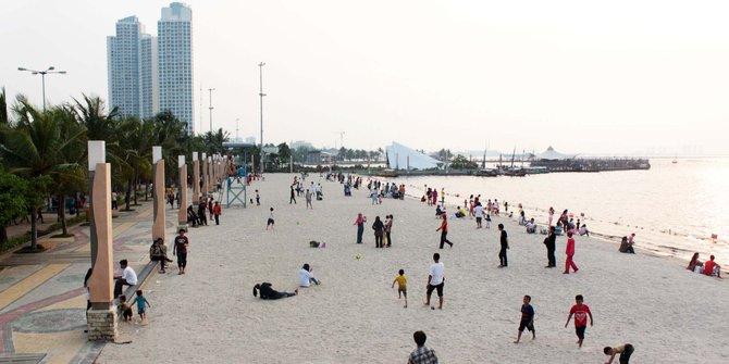 Mei 2016 Journey Ancol Terkenal Pantainya Terletak Jakarta Utara Menjadi