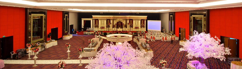Merlynn Park Hotel Jakarta Indonesia Experience Beautifull Ballroom Pantai Ancol