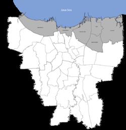 North Jakarta Wikipedia Utara Png Pantai Ancol Kota Administrasi