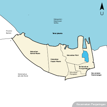 Penjaringan Jakarta Utara Wikipedia Bahasa Indonesia Ensiklopedia Bebas Pantai Ancol