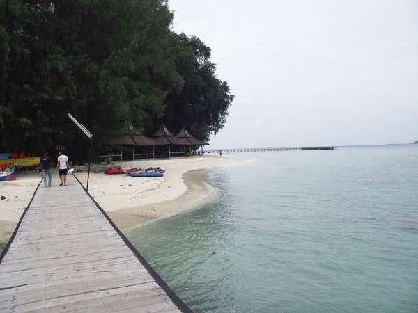 Pulau Bidadari Pesona Kepulauan Seribu Sepa Pantai Ancol Kota Administrasi