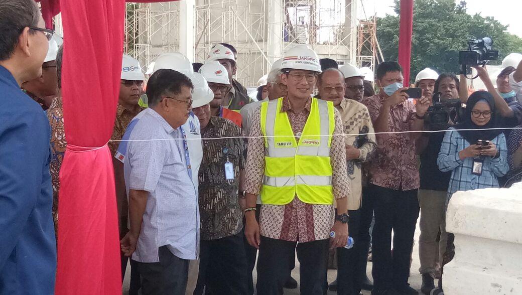 Situs Resmi Kepolisian Resort Metropolitan Jakarta Utara Kunjungan Wakil Presiden