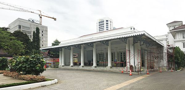Jakarta Wikiwand Governor Office City Hall Complex Pasar Seni Ancol