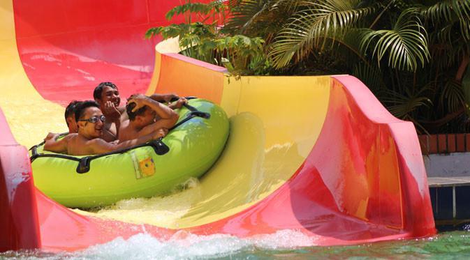 Berenang Atlantis Water Adventures Ancol Rp 500 Hari Petualangan Air