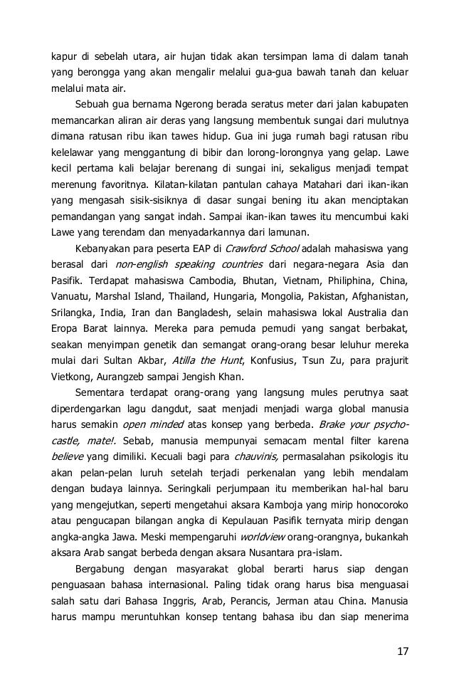 Deja Vu Nusantara Perbukitan 29 17 Kapur Sebelah Utara Air