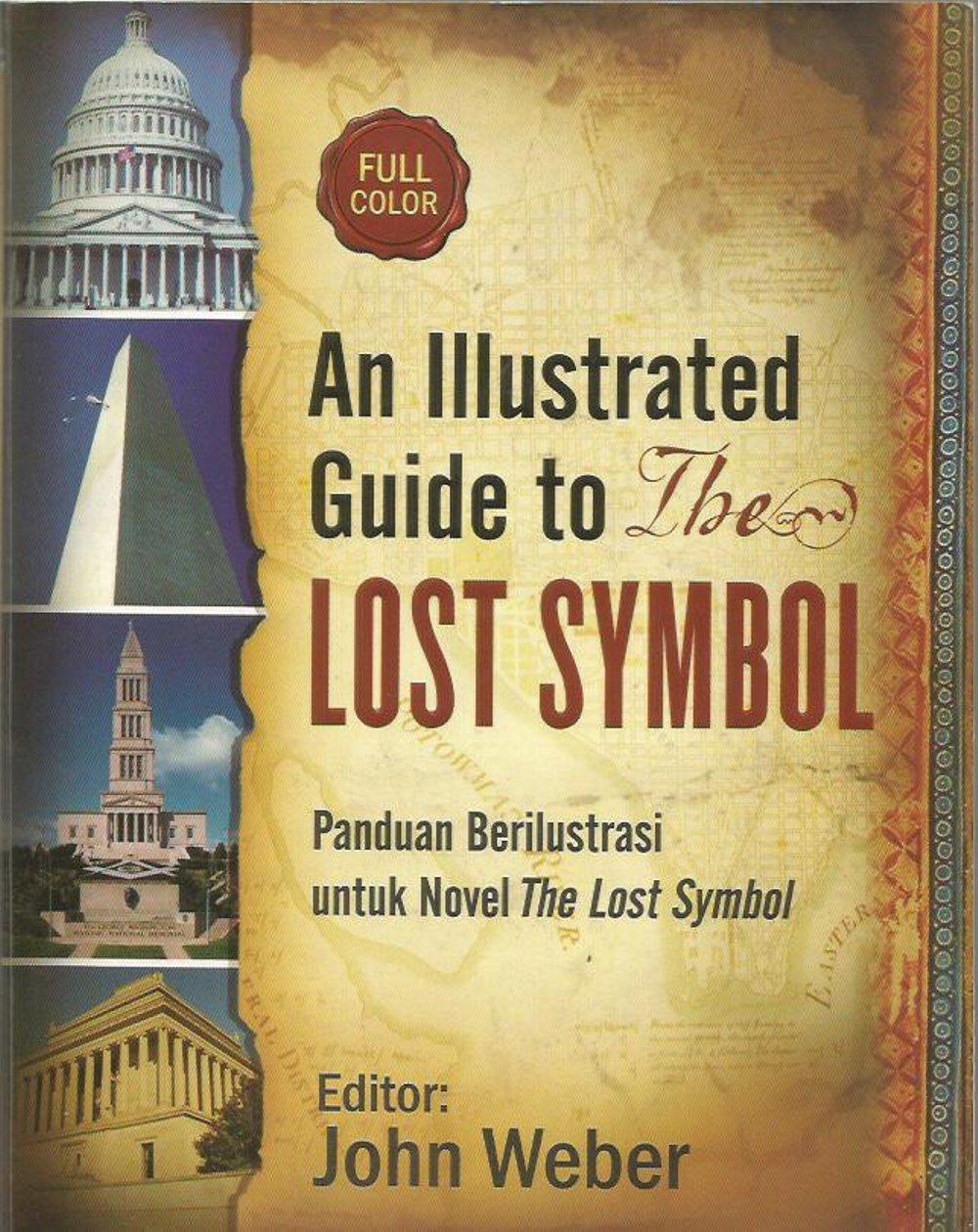 Jual Illustrated Guide Lost Symbol Panduan Ilustrasi Lengkap Petualangan Air
