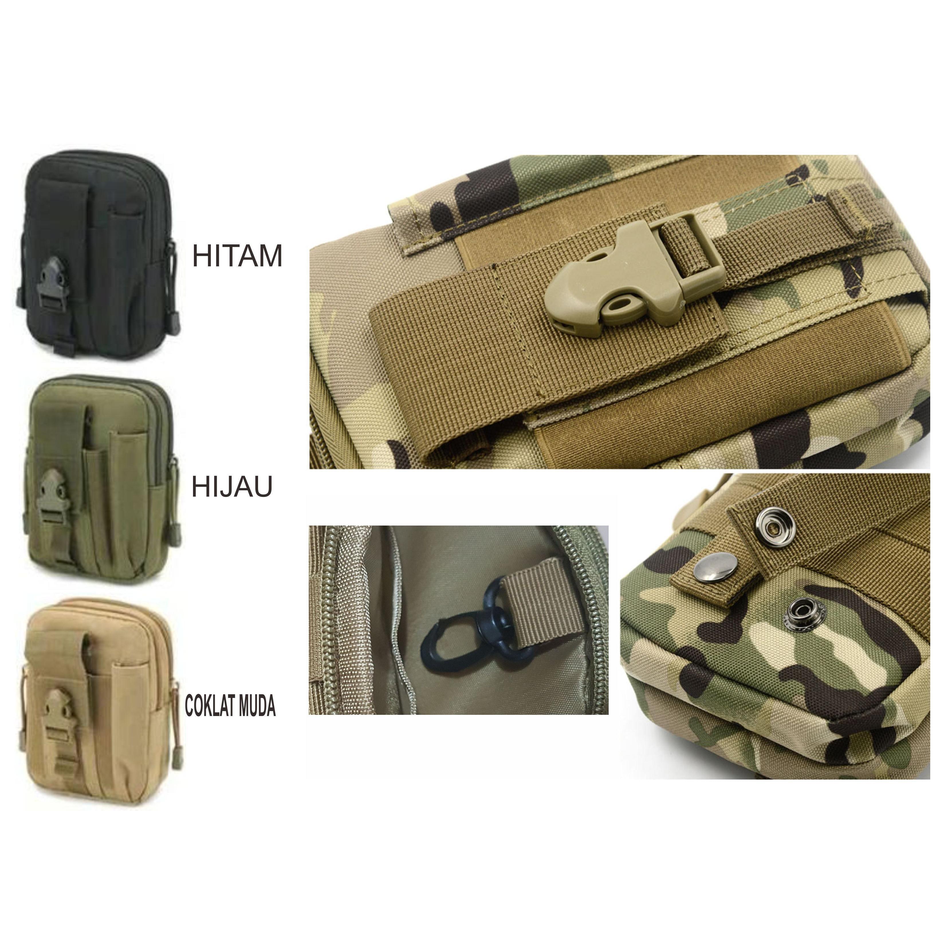 Tas Pinggang Tactical Army Versi 2 P410 Elevenia Petualangan Air