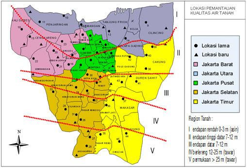 Blog Chika Ping Geografis Jakarta Waterbom Kota Administrasi Utara