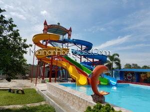 Desain Halaman Bermain Waterpark Waterboom Waterbom Jakarta Kota Administrasi Utara
