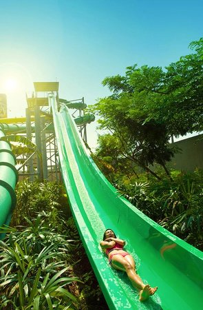 Speed Slide Girl Picture Waterbom Jakarta Tripadvisor Kota Administrasi Utara