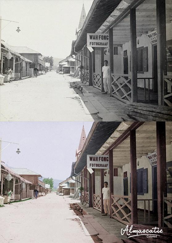 20 Foto Kota Ambon 1800 1900 Warnai Suasana Benteng Nieuw