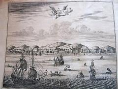 Ambon Maluku Kota Abad 17 Sebelah Kir Flickr Kiri Terlihat