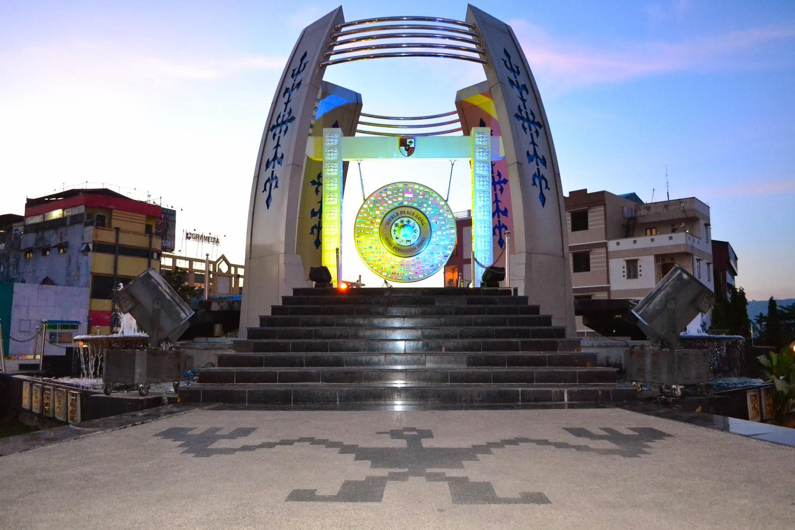Benteng Victoria Gong Perdamaian Dunia Kota Ambon