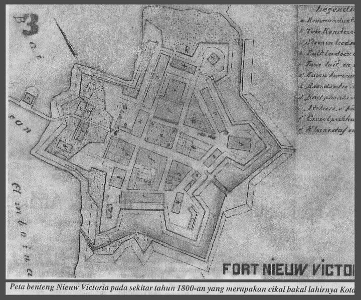 Beta Masilli Benteng Nieuw Victoria Cikal Bakal Kota Ambon Tanggal