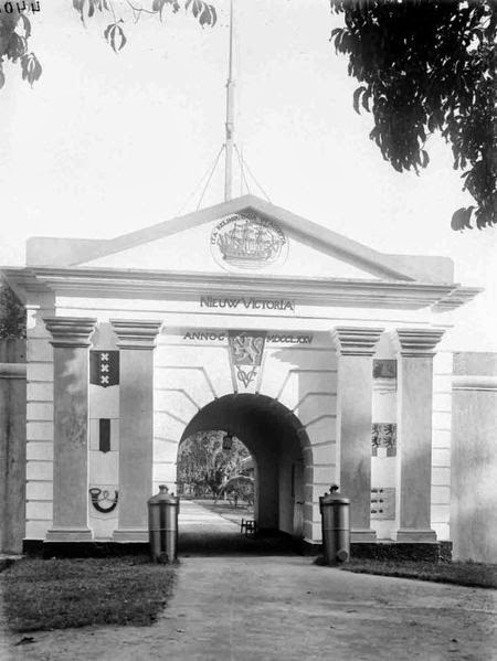 Beta Masilli Benteng Nieuw Victoria Cikal Bakal Kota Ambon