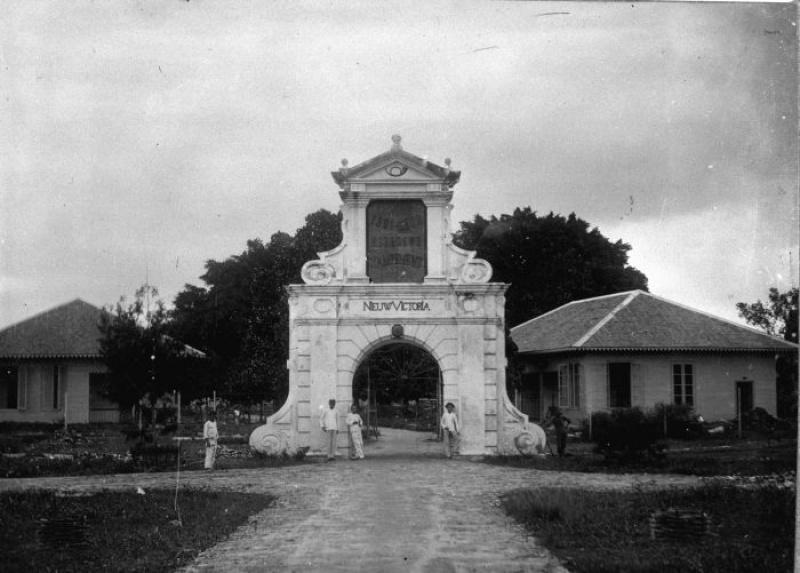 Ferangi Fortress Ambon Benteng Victoria Kota