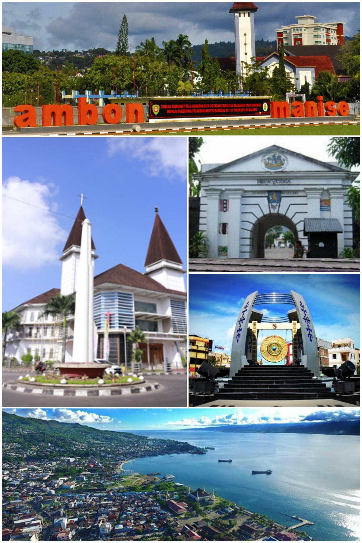 File Montase Ambon Png Wikimedia Commons Benteng Victoria Kota