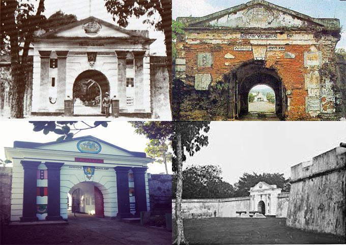 Kisraya Benteng Victoria Salah Satu Peninggalan Portugis Terletak Kecamatan Sirimau