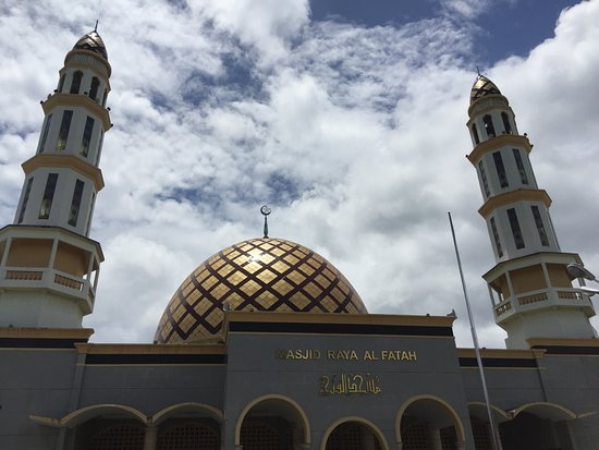 Al Fatah Great Mosque Picture Ambon Masjid Raya Kota