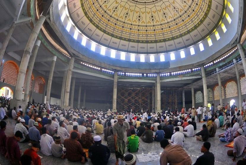 Ambon Siap Gelar Mtq Nasional Republika Online Masjid Alfatah Terbesar