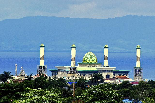 Maluku Utara Jpg Masjid Al Munawaroh Raya Kota Fatah Ambon