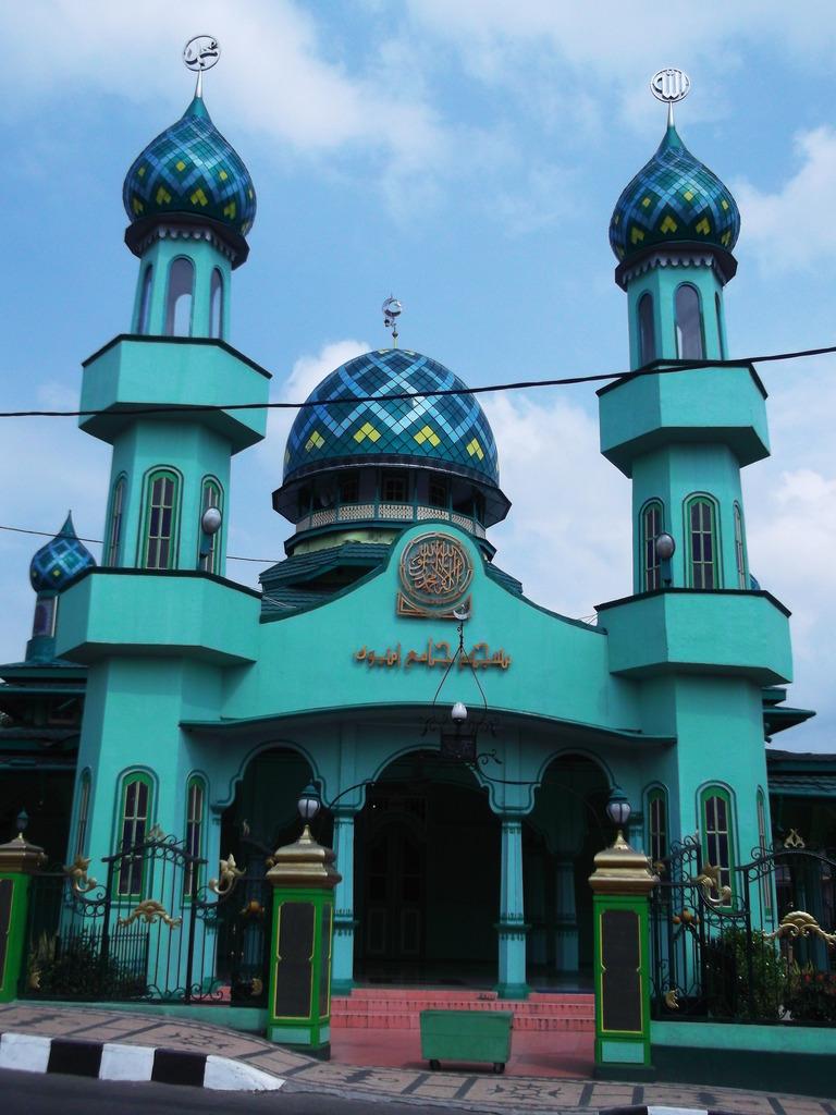Masjid Jami Ambon Maluku Raya Al Fatah Kota
