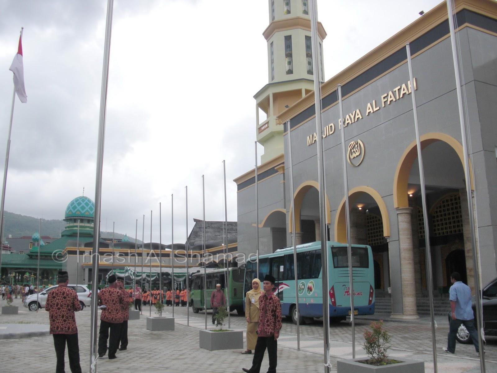 Masjid Raya Al Fatah Indonesia Kota Ambon Wisata Sejarah View