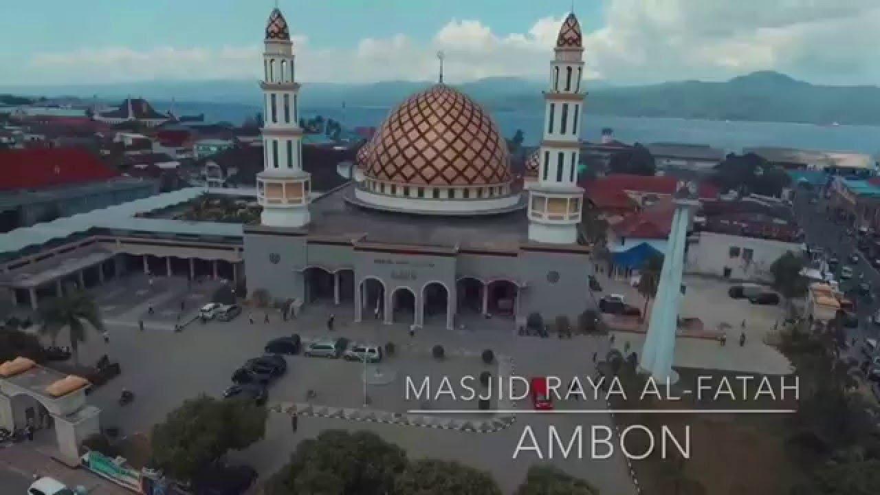 Masjid Raya Al Fatah Indonesia Share Visit Experience Kota Ambon