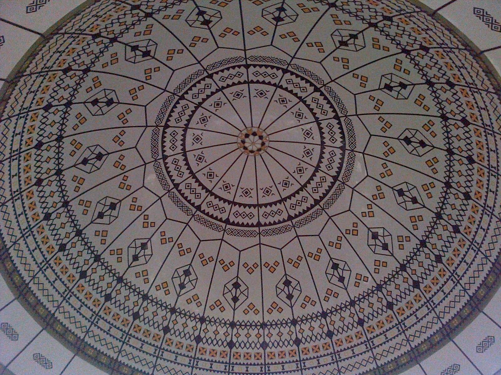 Masjid Raya Al Fatah Kebanggaan Kota Ambon Story Kubah Tampak