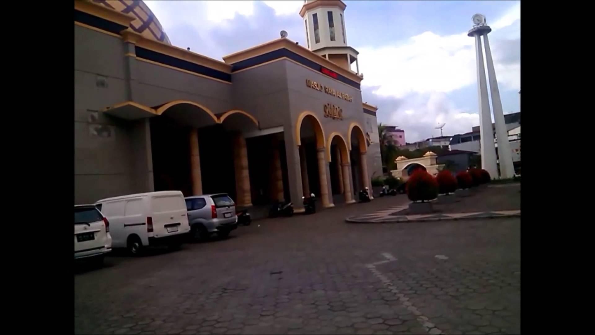 Masjid Raya Ambon Al Fatah Molucass Youtube Kota