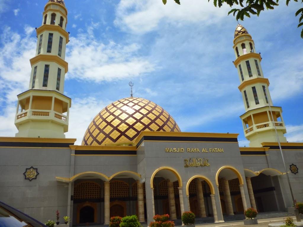 Sketching Masjid Raya Al Fatah Kota Ambon
