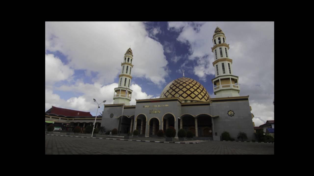 Timelapse Masjid Raya Al Fatah Ambon Youtube Kota