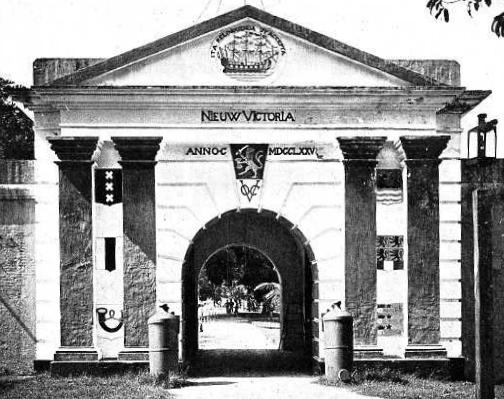 Maluku Fort Nieuw Victoria Ambon 1775 Museum Siwa Lima Kota