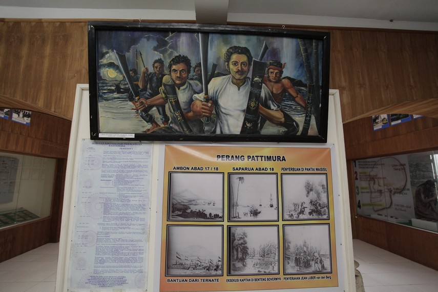 Sejarah Pariwisata Adnan Saleh Latukau Bangunan Kedua Disebut Museum Siwa