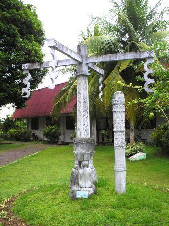 Siwalima Museum Garden Statues Siwa Lima Kota Ambon
