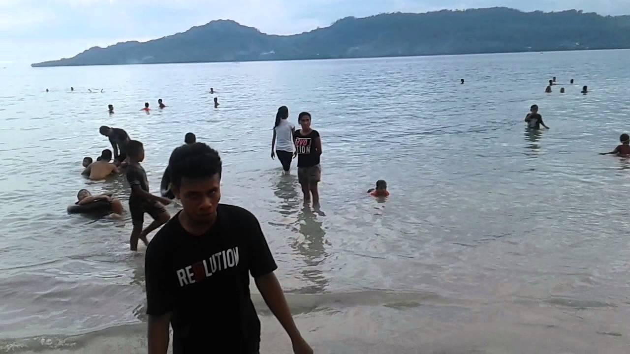 Liburan Pantai Natsepa Ambon Youtube Kota
