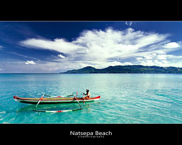 Natsepa Beach Ambon Mollucas Ambones Beaches Paradise Pantai Kota