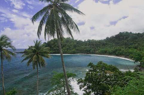 Objek Wisata Pantai Natsepa Maluku Tengah Indonesia Kota Ambon
