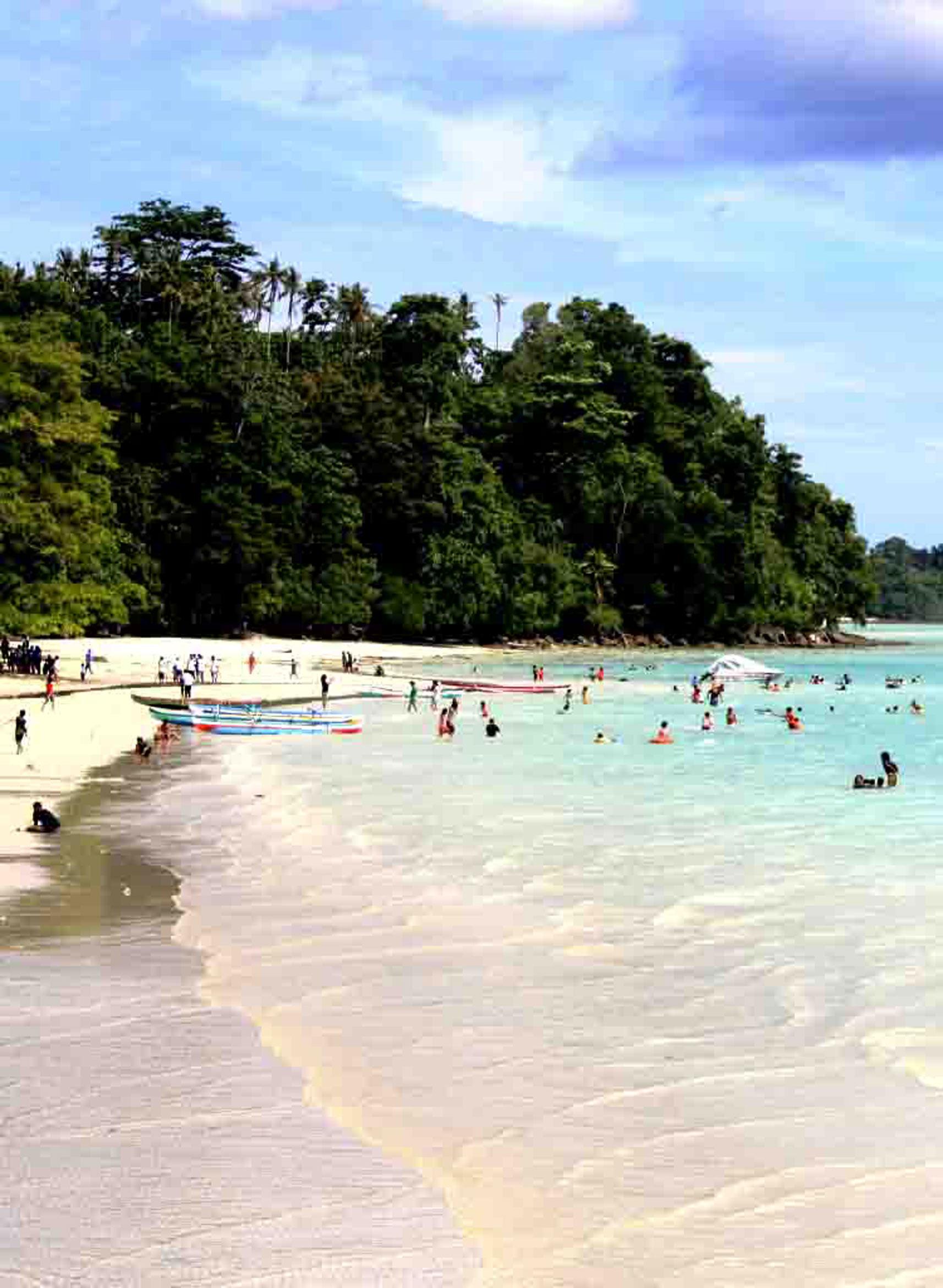 Pantai Natsepa Ambon Pasirpantai Kota