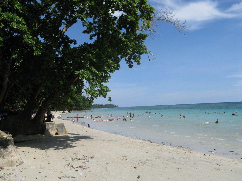 Pantai Natsepa Ambon Seindah Kuta Bali Maluku Kota