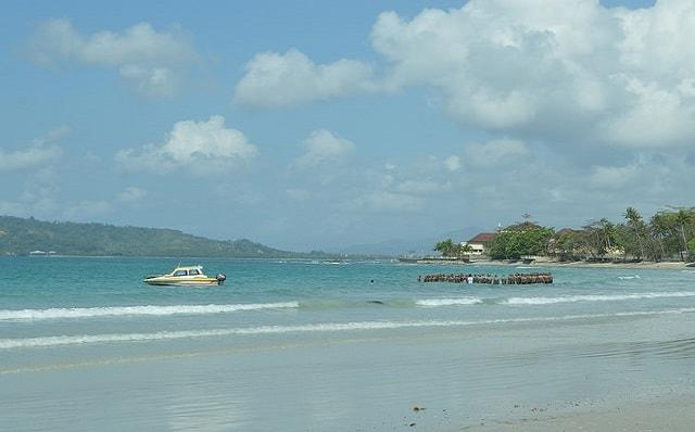 Pantai Natsepa Ambon Wisata Bahari Propinsi Maluku Traveluxion Kota