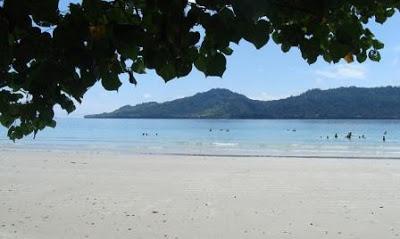Pantai Natsepa Ambon Wisata Bahari Propinsi Maluku Tujuan Kota