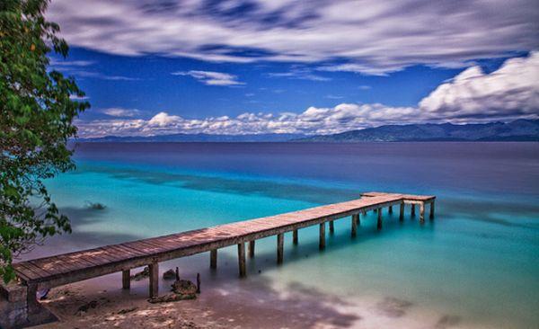 Surga Laut Maluku Shnet Pantai Liang Tengah Natsepa Kota Ambon