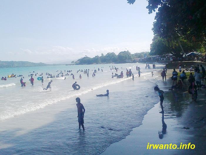 Tempat Wisata Kota Ambon Sekitarnya Pantai Natsepa