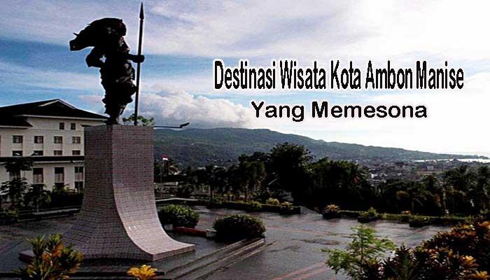 Destinasi Wisata Kota Ambon Manise Memesona Taman Pattimura