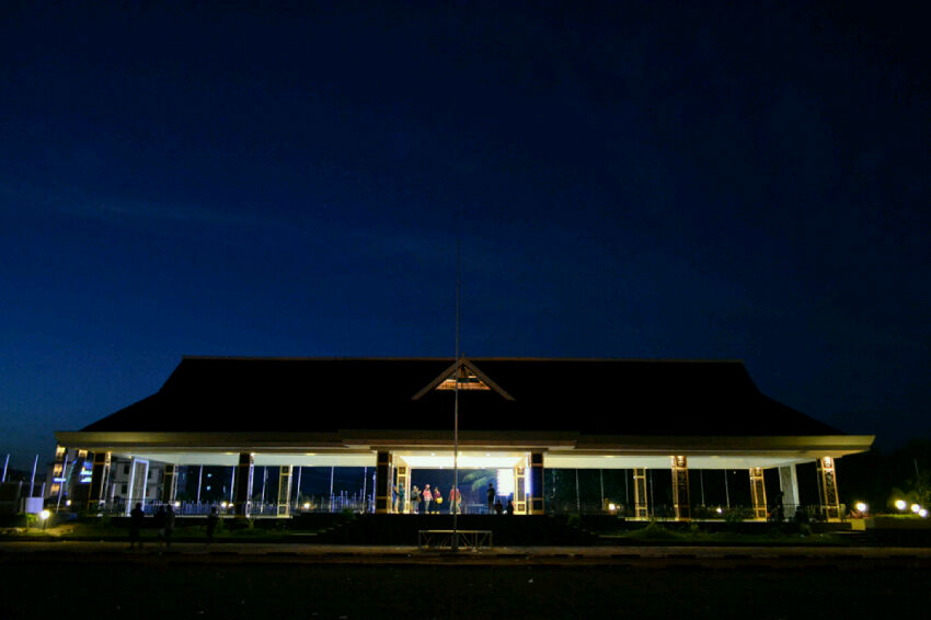 Marini Fang Wisata Ambon Taman Terdapat Tugu Pahlawan Nasional Kapiten